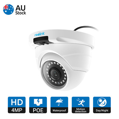 HD 4MP POE Home Security Audio IP Camera IR Night Vision Dome Reolink RLC-420