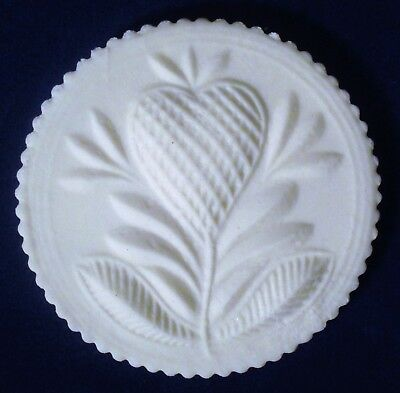VINTAGE Springerle Speculaas Butter Cookie Press Stamp Handle Mold - STRAWBERRY