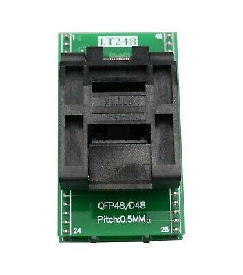 LT248 QFP48 to DIP48 IC Programmer Adapter Clamshell Test Socket