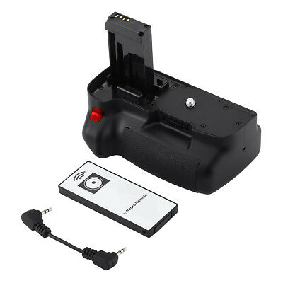 Vertical Battery Grip for Canon EOS 100D Rebel SL1 Kiss X7 + IR Remote + Cable