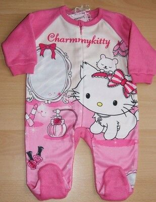 *Charmmy Kitty* Fleece Overall Strampler ~ Gr.62~Neu