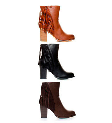 Mustang - Botines Fuse Mujer chica