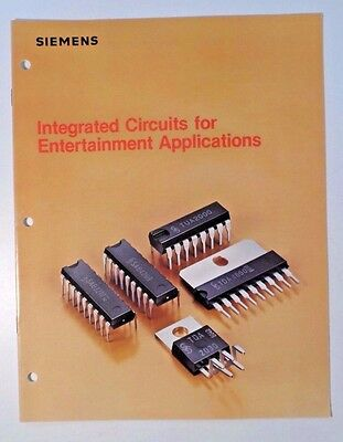 1981 Siemens Integrated Circuits Entertainment Applications Catalog (TV/Radio)