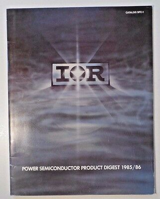 1985/86 International Rectifier Power Semiconductor Product Digest