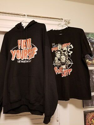last podcast on the left hoodie and shirt XXL, horror, serial killers, comedy