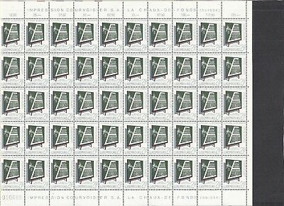 Jan994 LUXEMBOURG 1965 High Quality MNH COMPLETE sheet, Best Quality!