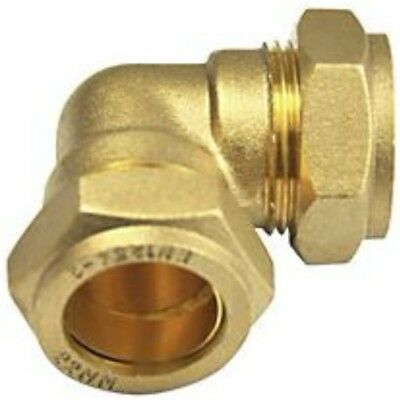 8Mm 10Mm 15Mm 22Mm 28M Compression Elbow 90 Fittings Plumbing Copper Pipe Uk