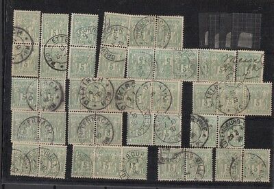 Jan999 LUXEMBOURG Prifix50 Allegorie 5c Green 1882 High Quality CANCELLED stamps