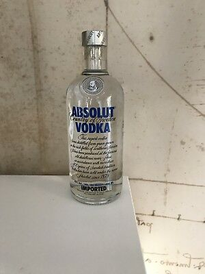 $$$ Absolut Vodka Blue Label 500 Ml Old Style New & Sealed Top Condition $$$