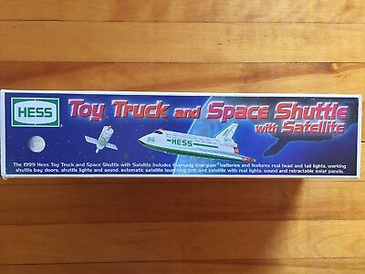 Hess Truck 1999 Space Shuttle With Hauler/launcher Unused In Box/nasa