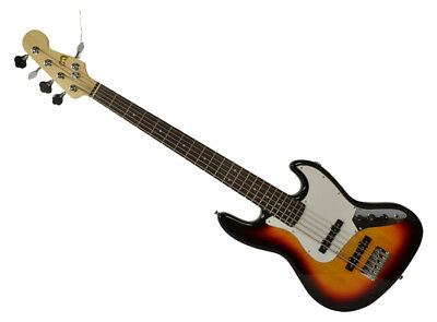 Electric Bass Guitar 5 String Sunburst by Bryce
