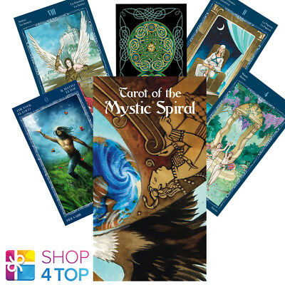 Tarot Of The Mystic Spiral Deck Cards Esoteric Fortune Telling Lo Scarabeo New