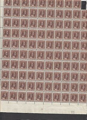 Jan1003 LUXEMBOURG Marie Adelaide OFFICIEL MNH Incomplete sheet