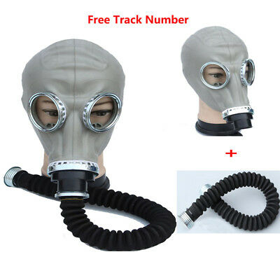 2in1 Paint Spraying Military soviet gas mask Full Face Facepiece Respirator 40mm