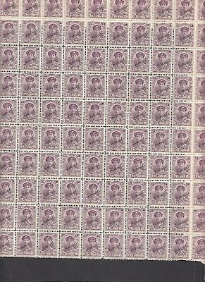 Jan1007 LUXEMBOURG G.D. Charlotte OFFICIEL MNH COMPLETE sheet