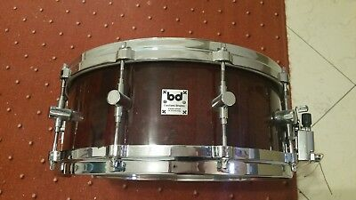 BD Custom Drums Snare Drum 14 x 5,5 Fassbauweise ähnl. Troyan Made in Germany