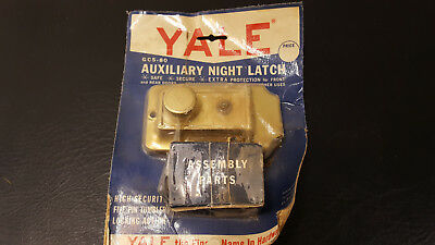 Vintage Yale GCS-80 Auxiliary Night Latch Door Lock New In Package 2