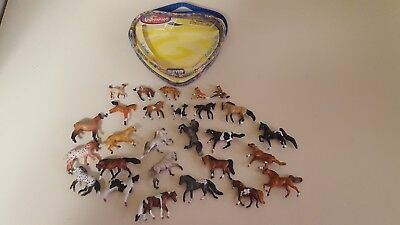 breyer mini and mini whinnies lot Of 27 Horses