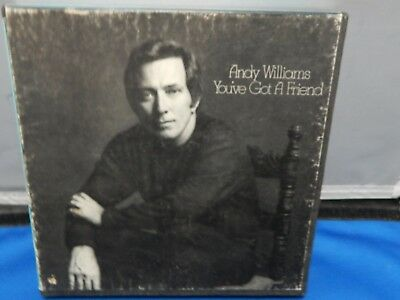 Andy Williams Reel to Reel You've Got A Friend CR-30797 4 Track 7 1/2 Columbia