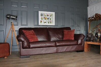 John Lewis Java 3 Seater Leather Sofa 2200 New Cur Model