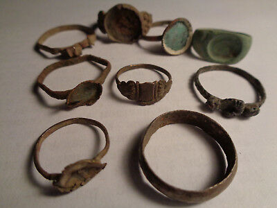 Very old rings from the Middle Ages