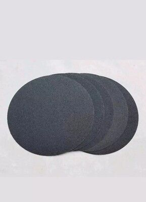 """14"""" PSA (Adhesive Backed Sanding Discs) 120 grit (Silicon Carbide). 10 pieces."""