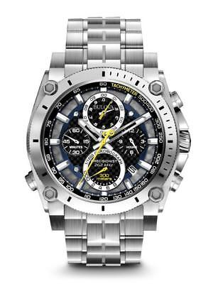 New Bulova Men Precisionist Collection Chronograph Watch 96B175 Quartz Movement
