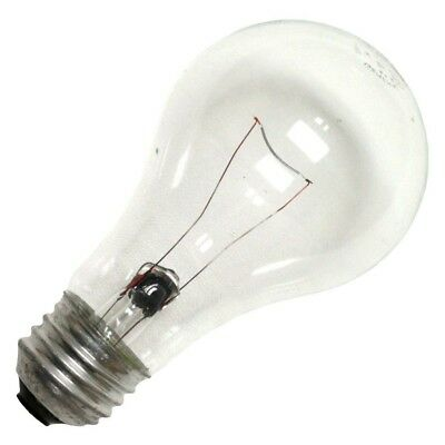 Ge72022 - (Case Of 24) 7A/cl 130 Volt New Ge A-Line Incandescent Light Bulbs
