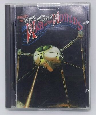 Highlights From Jeff Wayne's The War Of The Worlds MiniDisc Album MD VERY RARE