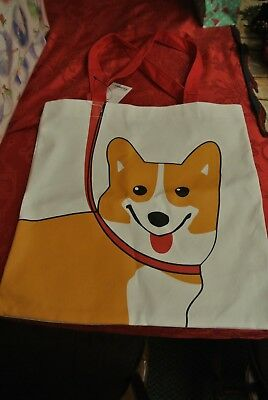 Cute Corgi Tote Bag New canvas