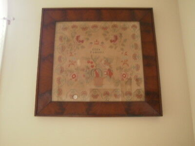 Antique Rare Sized Large English Sampler