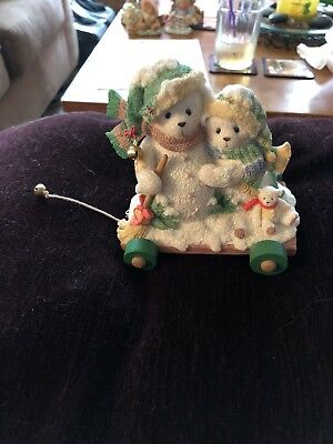 Enesco Cherished Teddies Snowbear LOT Of 4