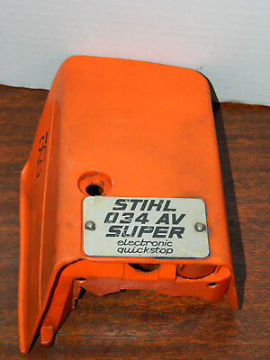 Stihl 034 Super Cylinder Top Cover Chainsaw 1125 080 1617 1125 080 1614