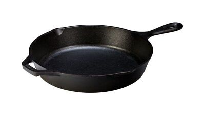 Cast Iron Skillet Nonstick 10.25 inch Large Grill Pan Deep Oven Lodge Stove Cook
