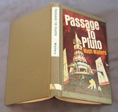 PASSAGE TO PLUTO By Hugh Walters - Hardcover