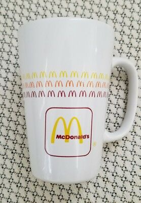 Vintage McDonalds Coffee Cup Latte Mug Group II Communications Arches