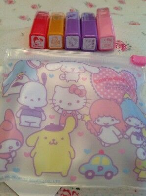 traumhaftes Sanrio Characters Stempelset, Neu + OVP