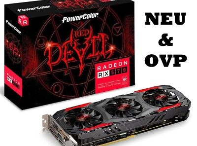 PowerColor RX 570 Red Devil 4GB Grafikkarte * Ideal für MINING * Ethereum *NEU*