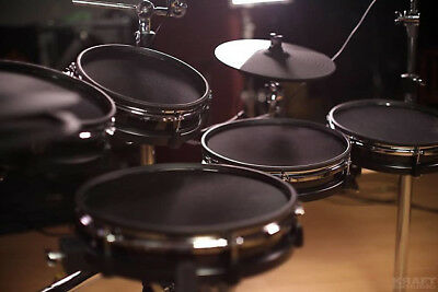DM10 Studio Mesh Kit 10Piece Electronic Drum Kit by Alesis. All Mesh Heads.