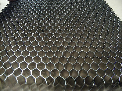 "Replacement Honeycomb Grid for Laser Engraver Table, 1/4"" Cell, 10""x20""x .500"""