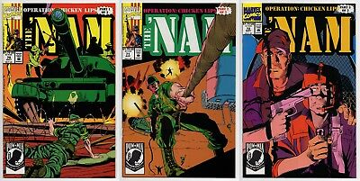 THE 'NAM #70 #71 #72 - 1992 - CGC Ready! - 9.6 OR BETTER