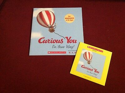 """CURIOUS GEORGE: CURIOUS YOU ON YOUR WAY"", paperback book and read along CD"