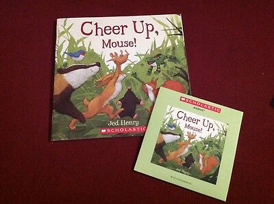 """CHEER UP, MOUSE!"", paperback and read along CD"
