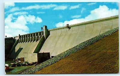 *1950s Table Rock Dam White River Missouri Ozarks Vintage Postcard B28