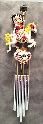 BETTY BOOP Carousel Wind Chimes