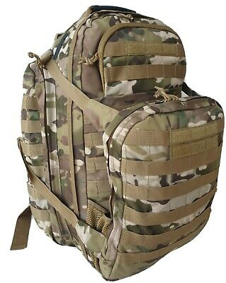 Tas Multicam 45Lt Patrol Backpack - Molle - Hd 900D Double Pu Coated Fabric