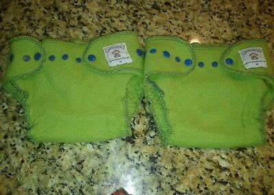 2 Loveybums wool Diaper covers Size M