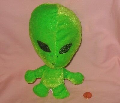 Green Area 51 Alien Plush; Distributed By Ideal Toys