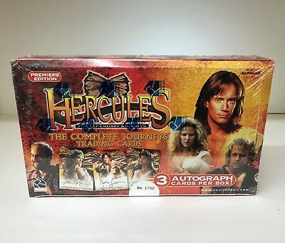 Hercules The Complete Journeys - Sealed Trading Card Hobby Box - 40 Packs, 2001