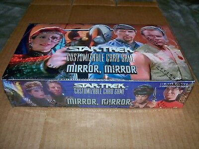 Star Trek CCG Mirror Mirror Expansion Booster Box 30-11 card packs FactorySealed